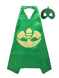 pj masks cape mask pj mask party favors green gekko