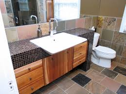 slate master bath remodel in butler tarkington wrightworks llc