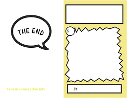 printable book template ks2 comic book template pdf awesome 8 best graphic novel ic images on