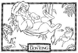 20 free printable lion king coloring pages everfreecoloring