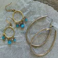 sweet and sassy earrings poparazzi style beaded hoop earrings by sosweetsosassy on etsy