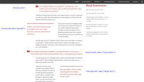 quote blockquote html how to use tiny framework and its child themes a comprehensive
