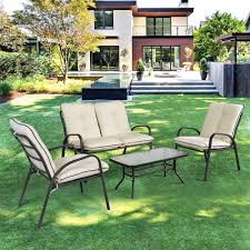 Pool And Patio Furniture Patio Plastic Loveseat Outdoor Crate And Barrel Bistro Table