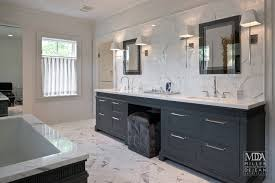 master bathroom vanities ideas gray bathroom vanity with pink seat stool transitional