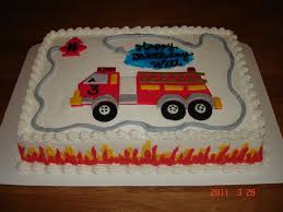 firetruck cakes truck cake cakecentral