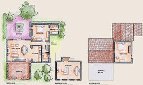 Inspiring Home Floor Plans With Guest House Images Best Idea Plans Of Guest House