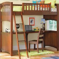 full loft bed with desk underneath save space with loft bed with