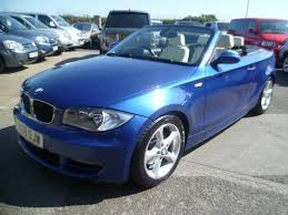used bmw 1 series convertible used bmw 1 series 2009 manual diesel 120d se 2 door blue for sale