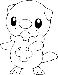 pokemon coloring pages totodile oshawott blue axel färgläggning pinterest pokémon pokemon
