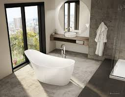 Acrylic Freestanding Bathtub Molto 64 Inch Acrylic Freestanding Bathtub