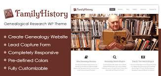 genealogical research wordpress theme u0026 template inkthemes