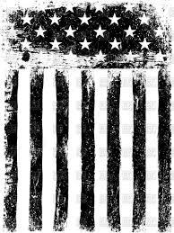 Usa Flag Vector Monochrome Photocopy American Flag Background Royalty Free Vector