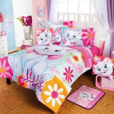 disney girls bedding coordinado de edredón marie flores recamara edredon niñas