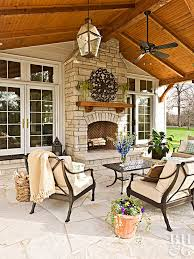 Pinterest Outdoor Rooms - country french loggias traditional home landscaping