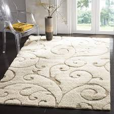 Modern Shaggy Rugs Soft Indoor Grey Modern Shag Area Silky Smooth Rugs Fluffy