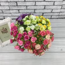 online get cheap diamond wedding flowers aliexpress com alibaba