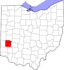 Map Of Dayton Ohio File Map Of Ohio Highlighting Montgomery County Svg Wikimedia