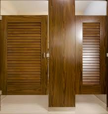 Commercial Bathroom Door Ironwood Manufacturing Plastic Laminate Louvered Toilet Partition