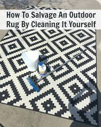 cleaning outdoor rugs how to salvage an outdoor rug by cleaning it yourself outdoor