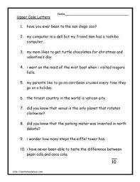 capital letter worksheets educational pinterest letter