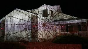 halloween light display projector 2017 halloween house projection mapping display live youtube