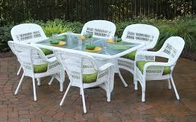 White Resin Patio Tables Wicker Resin Patio Furniture Coryc Me