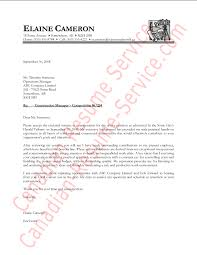 cover letter template canada 28 images format for standard