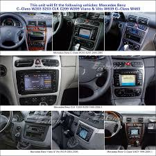 car stereo gps dvr dtv in sat nav mercedes c class w203 clk w209