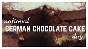 national german chocolate cake day foodimentary national food