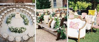 wedding ceremony seating wedding venues 11 creative seating ideas for your