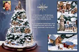 kinkade ornaments uk tree