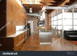 huge modern kitchens modern kitchen huge loft stock photo 32474194 shutterstock