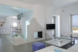 House Design From Inside Paros Cyclades Greece House With Swimming Pool You Can Look Into