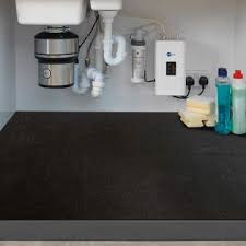 sink kitchen cabinet mat itsoft the sink mat kitchen tray drip cabinet liner