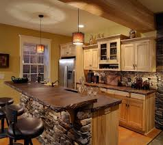 Rustic Kitchen Ideas by Glass Wall Mounted Cabinet Door Stainless Rustic Kitchen Iron