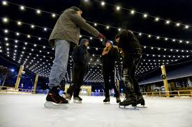 skating rink now open in downtown boulder boulder daily