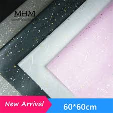 waterproof wrapping paper handmade paper 10 sheets lot 60 60cm wedding decoration waterproof