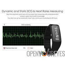 sleep app bracelet images Bluetooth fitness tracker bracelet pedometer heart rate monitor jpg