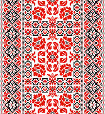 ukraine pattern vector ukrainian styles embroidery patterns vector set 05 vector pattern