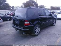 2000 mercedes suv salvage mercedes m class suvs for sale and auction