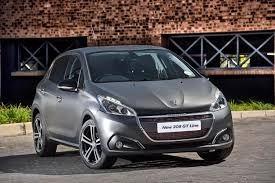 latest peugeot the new 2016 peugeot 208 gt line latest news surf4cars co za