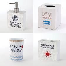 beach words bathroom accessories pier 1 imports