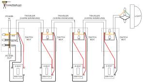 4 switch wiring diagram carlplant