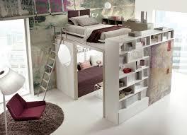 lit mezzanine ado avec bureau et rangement chambre ado fille avec lit mezzanine collection et cuisine