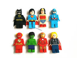 superman cake toppers marvel dc lego inspired cake toppers thor