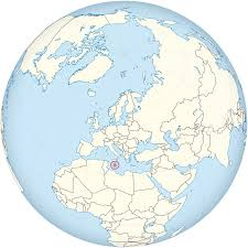 Malta World Map File Malta On The Globe Europe Centered Svg Wikimedia Commons