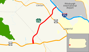 Pittsburgh Metro Map by Pennsylvania Route 576 Wikipedia