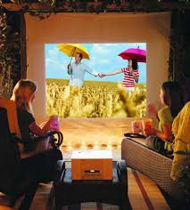 backyard movie projector ct outdoor