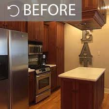 staining kitchen cabinets darker before and after kitchen painting projects before and after paper moon painting