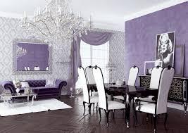 Purple Dining Room Ideas 15 Purple Living Decor Ideas Theme Design Purple And Gold Color